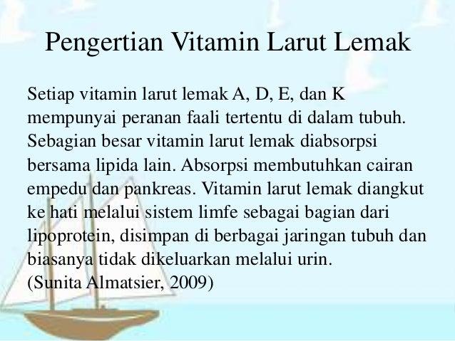 Ilmu Gizi Vitamin