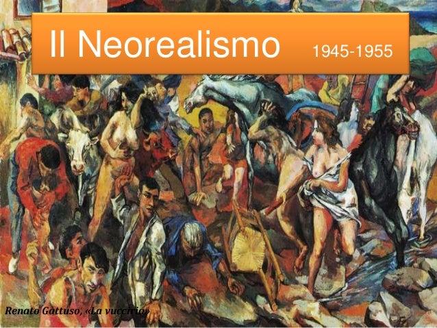 Il Neorealismo 1945-1955 Renato Gattuso, «La vucciria»