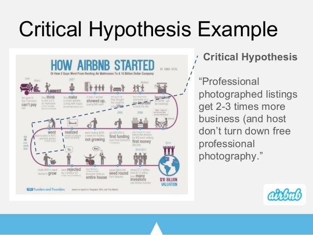 value hypothesis lean startup