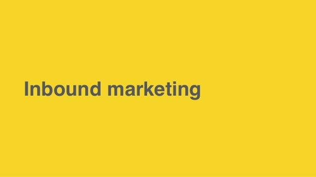 CRM & Inbound marketing