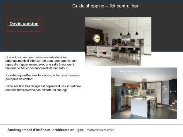 Lot de cuisine table et bar for Devis de cuisine en ligne
