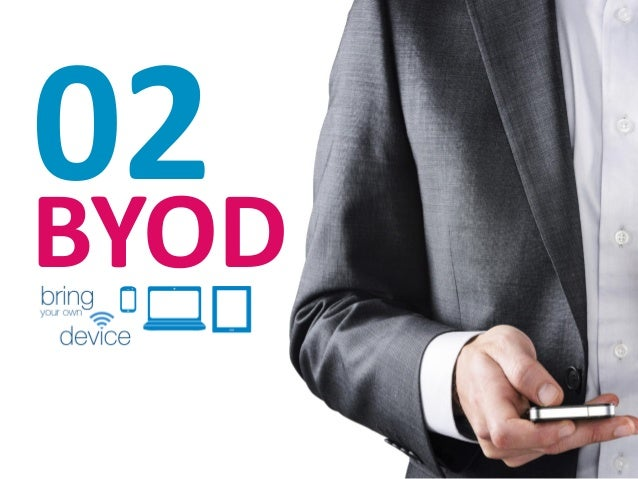 Pros  BYOD  Contras  1  Mayor productividad de los empleados  1  Riesgo en la seguridad y la privacidad de la información ...