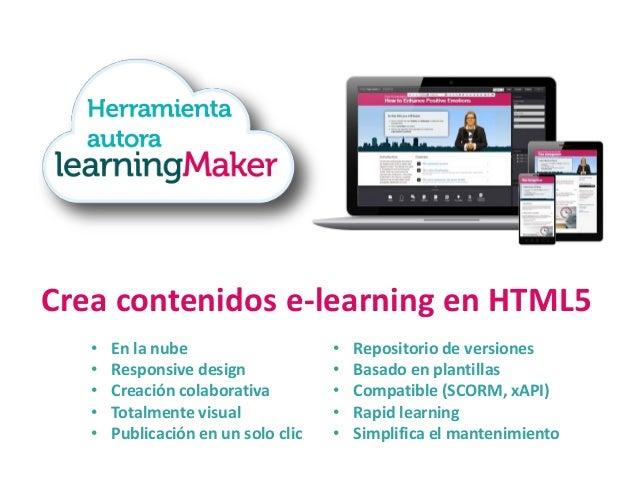 Sistema de mobile learning • Para iOS y Android • Para contenidos xAPI • Formación offline  • Formación específica • Segui...