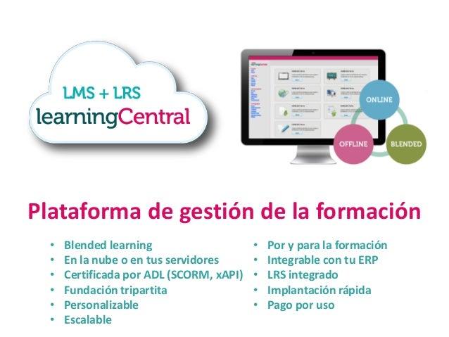 Contenidos e-learning de soft-skills • Formato rápido y ágil (byte-size) • De acceso libre • Responsive design • En la nub...