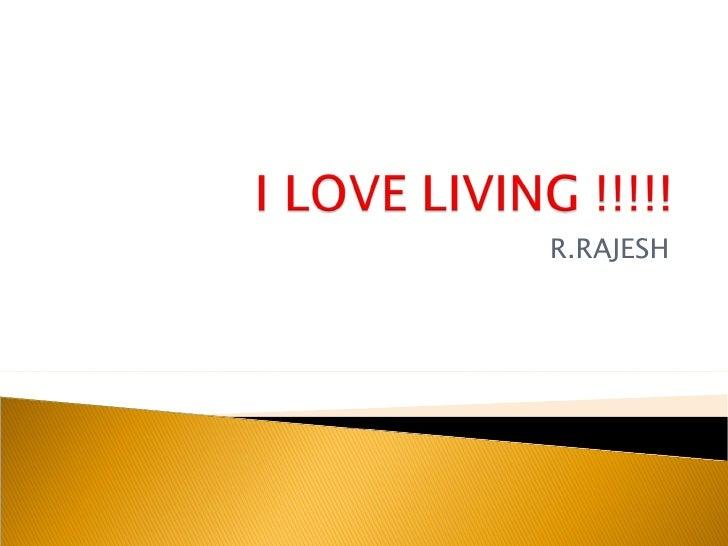 R.RAJESH