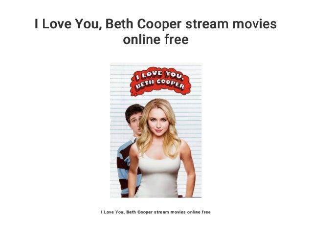 I Love You Beth Cooper Stream