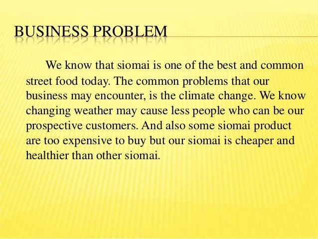 Siomai Business Proposal