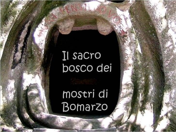 Il sacrobosco deimostri diBomarzo