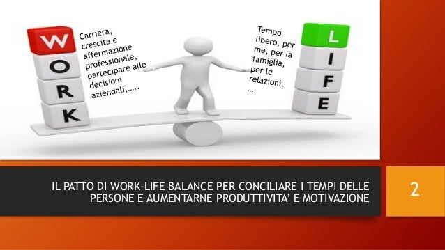 Il patto di Work-life Balance - Nomesis Slide 2