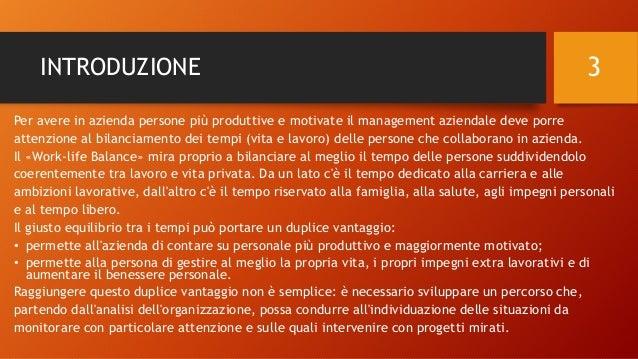 Il patto di Work-life Balance - Nomesis Slide 3