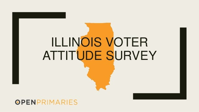 ILLINOIS VOTER ATTITUDE SURVEY