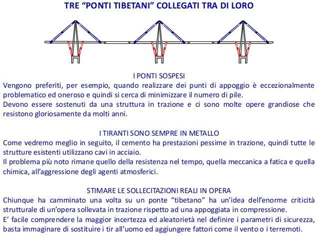 Il ponte sul Polcevera, spiegato da Morandi stesso Slide 2