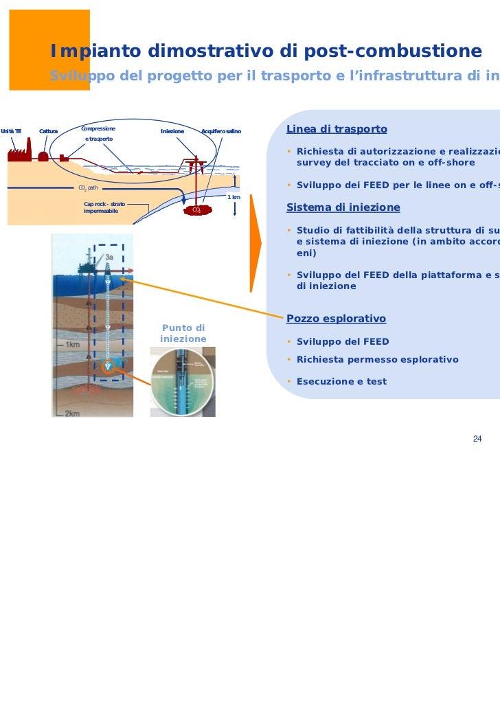 Il progetto ccs di enel - Enel richiesta interramento linea ...