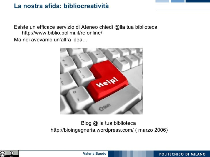 Il reference via chat Slide 2