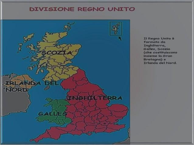 Cartina Regno Unito E Irlanda Del Nord.Il Regno Unito Di Gran Bretagna Ed Irlanda Del Nord