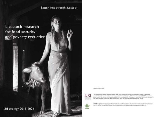 Livestock research for food security and poverty reduction: ILRI strategy 2013–2022 Slide 2