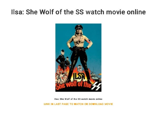 Ilsa she wolf of the ss watch online