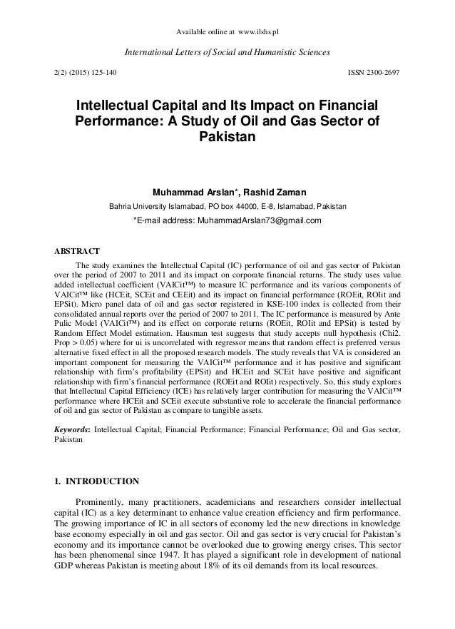 a study of intellectual capital Intellectual capital reporting pratices: a study of annual reports of select indian firms l 9661 2 review of related literature good attempts have been shade to.