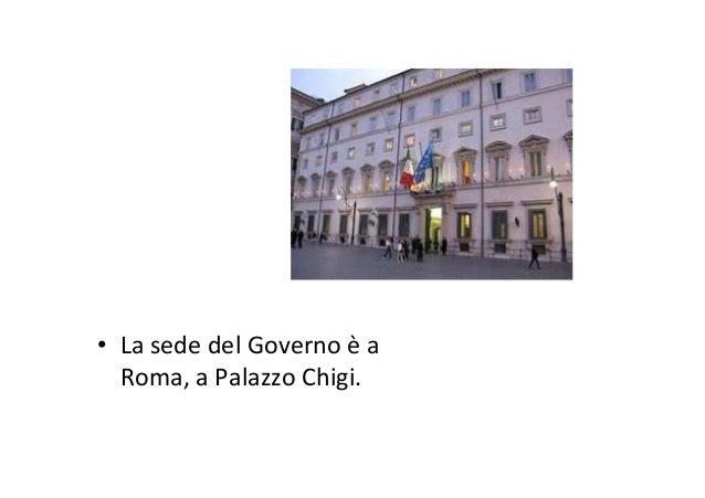 L'elezione del governo • Il Presidente della Repubblica nomina il Presidente del Consiglio dei Ministri e, su proposta di ...