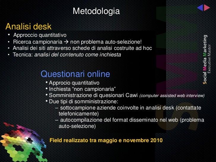 Il SocialMediAbility delle Aziende Italiane Slide 2
