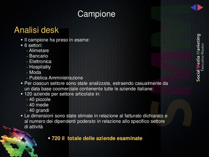 Il SocialMediAbility delle Aziende Italiane Slide 3