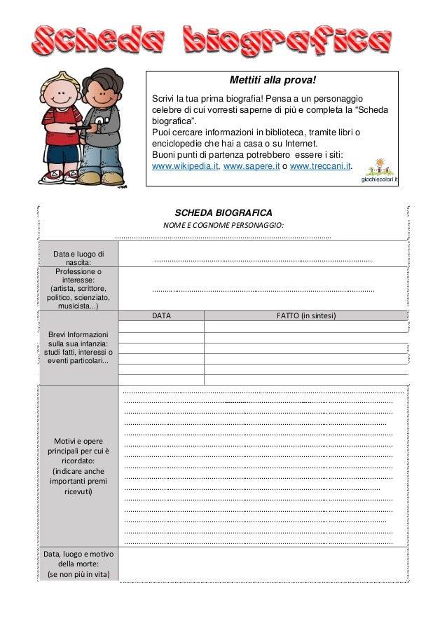 Il testo biografico unit didattica completa per la scuola primaria - Testo i giardini di marzo ...