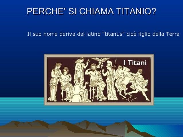 Il titanio Slide 2