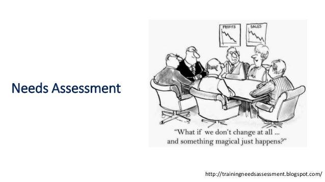 Needs Assessment http://trainingneedsassessment.blogspot.com/