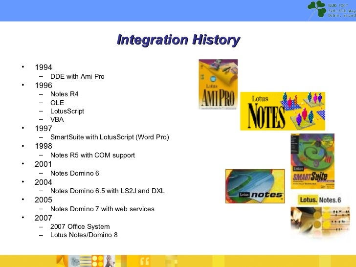 ILUG 2007 - Notes and Office Integration