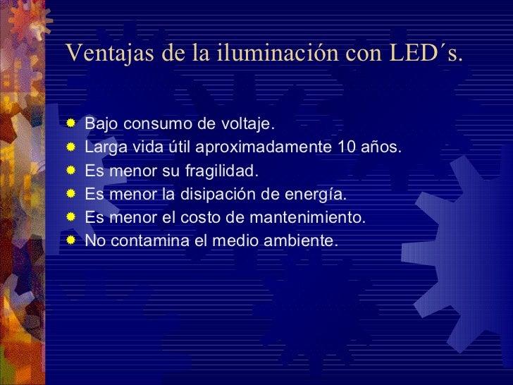 Iluminaci n con tecnolog a de led s - Iluminacion con led ...