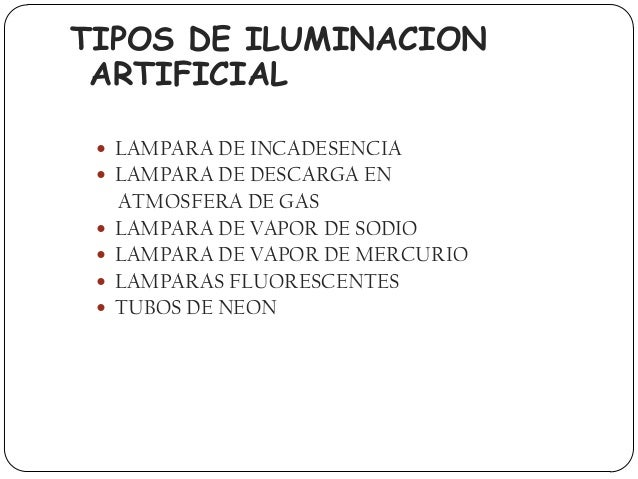 Iluminacion presentacion - Tipos de iluminacion ...