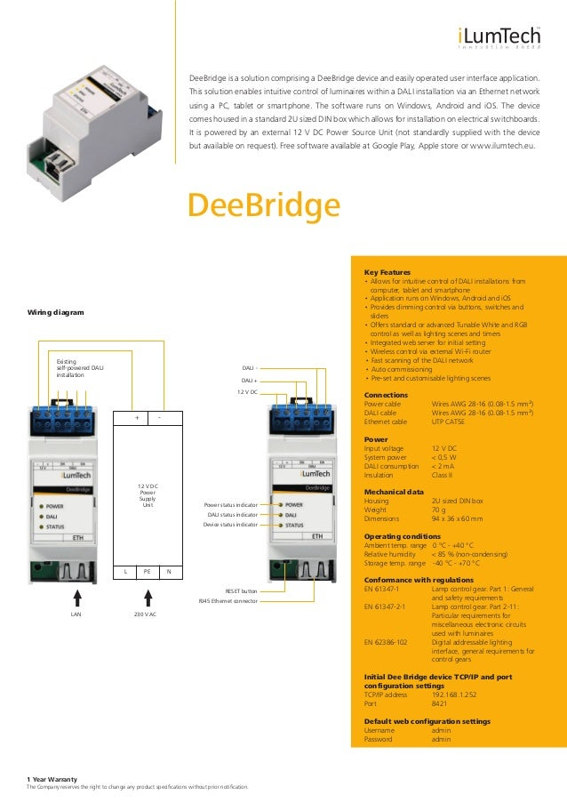 Ilumtech Technical Catalogue