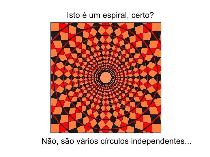 Isto é um espiral, certo? Não, são vários círculos independentes...