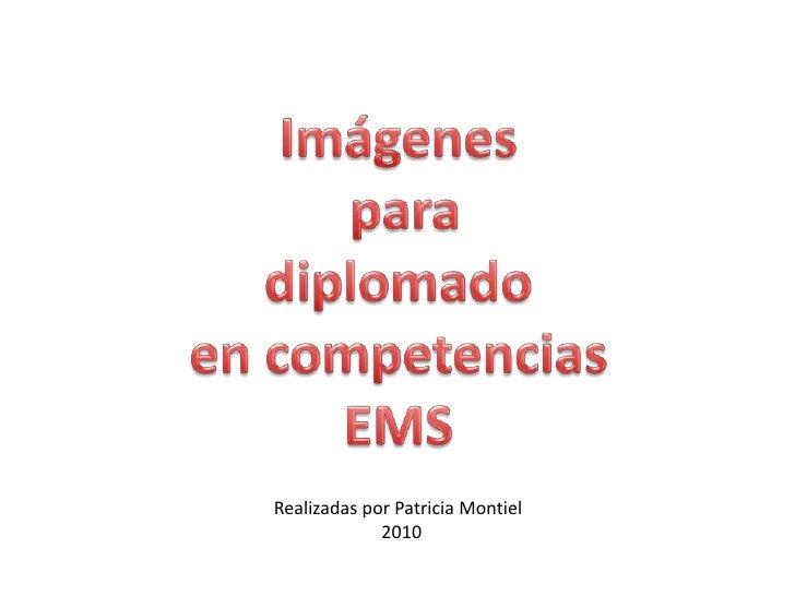 Imágenes  para  diplomado  en competencias EMS Realizadas por Patricia Montiel 2010