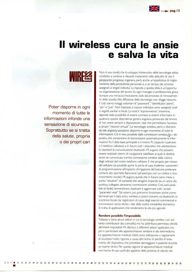 Il Wireless Cura Le Ansie