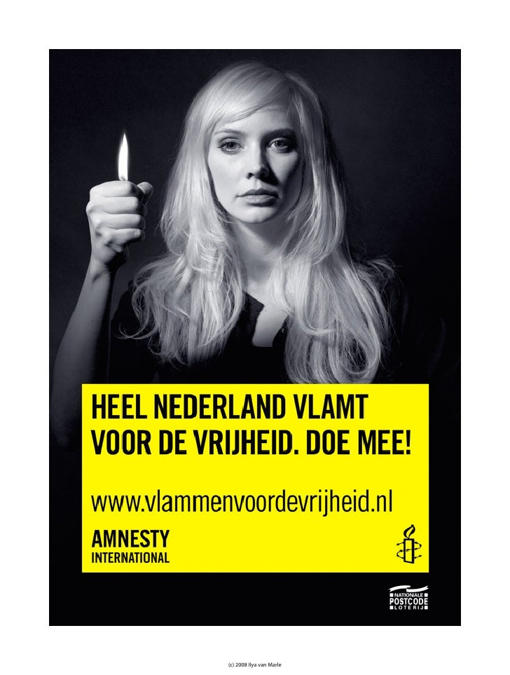 Flames for Freedom / Amnesty International