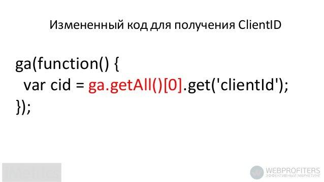 Блокировка кода отслеживания Google Analytics в браузере посетителя