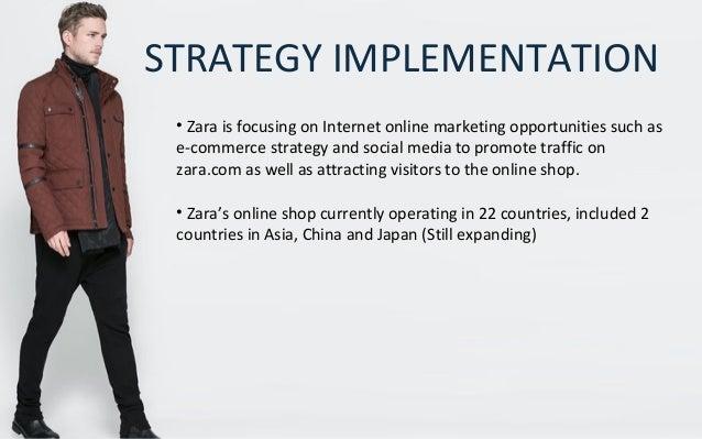 zara study case  segmentation 33 strategy implementation • zara