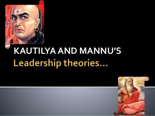 KAUTILYA AND MANNU'S