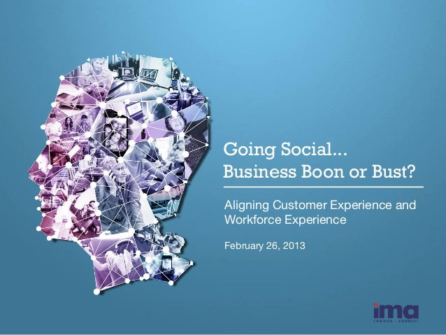 Going Social... Business Boon or Bust? 