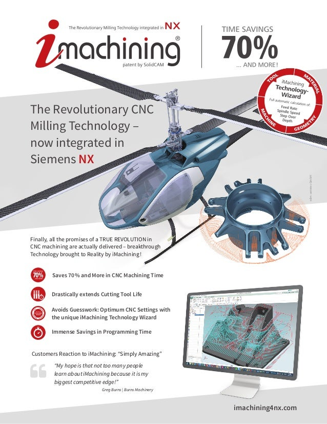 imachining4nx.com The Revolutionary CNC Milling Technology – now integrated in Siemens NX edm-aerotecGmbH Finally, all the...