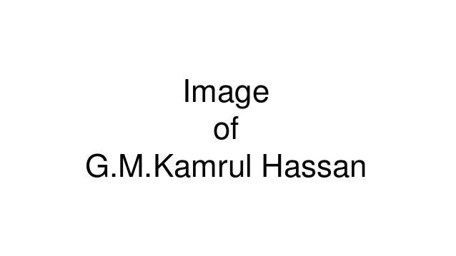 ImageofG.M.Kamrul Hassan