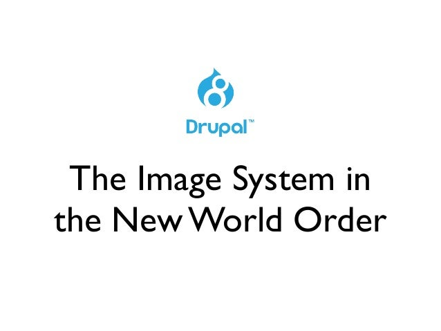 The Image System in the New World Order