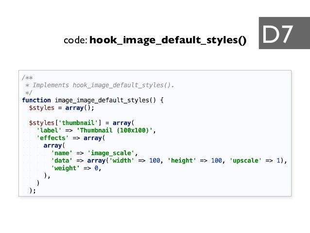 code: hook_image_default_styles() D7