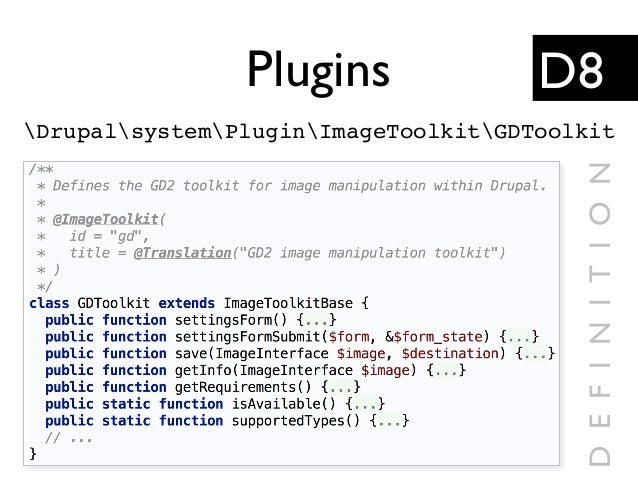 Plugins DrupalsystemPluginImageToolkitGDToolkit D8 DEFINITION