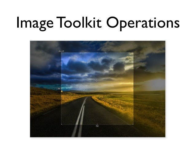 Image Toolkit Operations