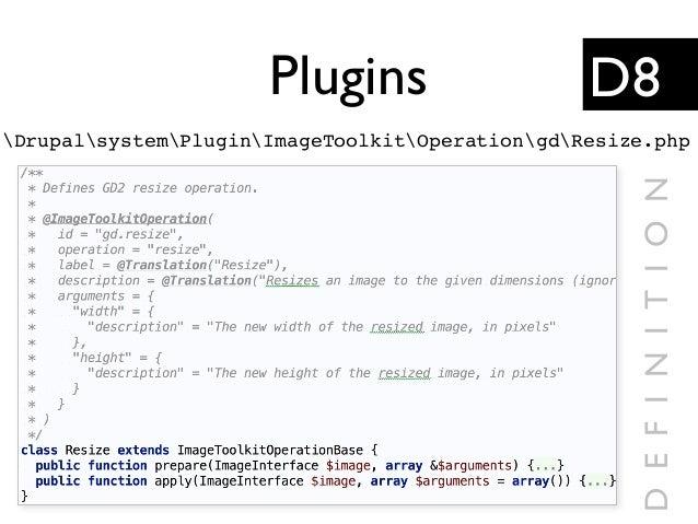 Plugins DrupalsystemPluginImageToolkitOperationgdResize.php D8 DEFINITION