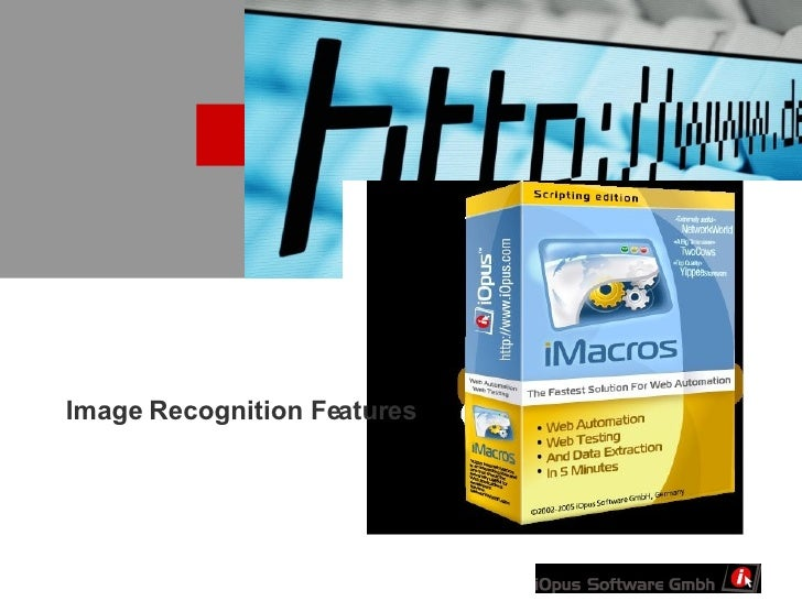 Image Recognition Features