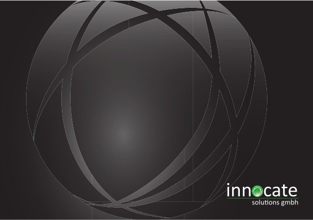 Inhalt Wer wir sind  Referenzen  Services  Jobs bei innocate  Kunden & Partner  TOP JOB Gewinner  Productivity Solutions  ...