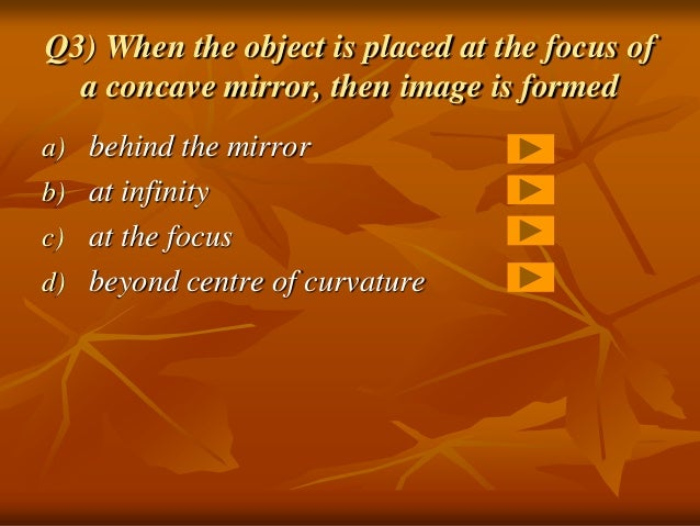Image Formed Byconcave Mirror